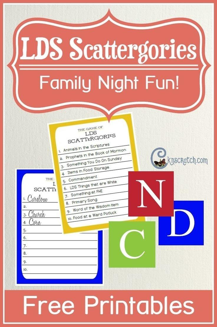 10 Fabulous Lds Family Home Evening Ideas 1010 best fhe images on pinterest fhe lessons family home evening 2020