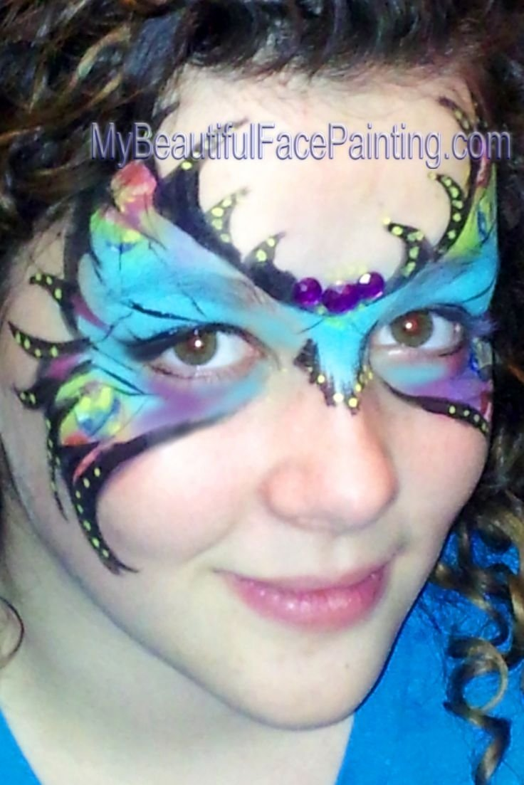 10 Wonderful Mardi Gras Face Painting Ideas 1028 best face painting images on pinterest face paintings face 2020