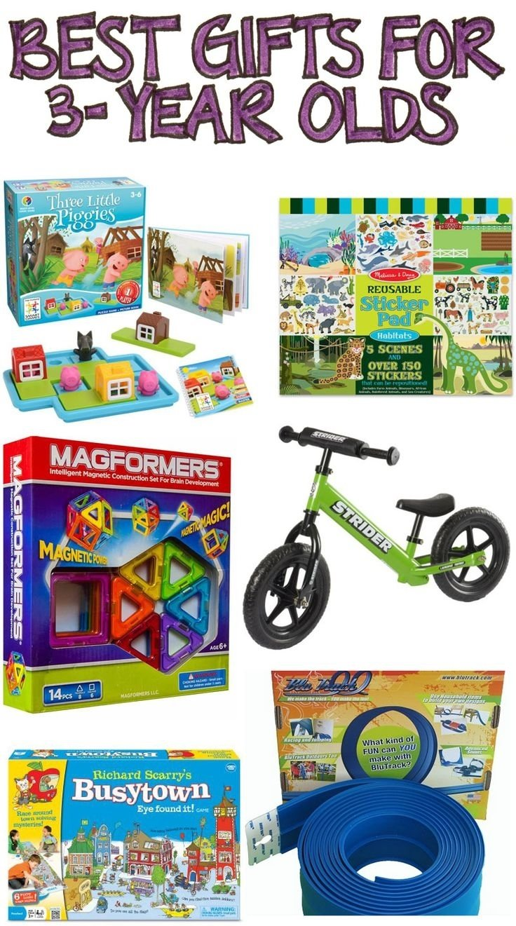 10 Perfect 4 Year Old Boy Birthday Gift Ideas 106 Best Toys For 3