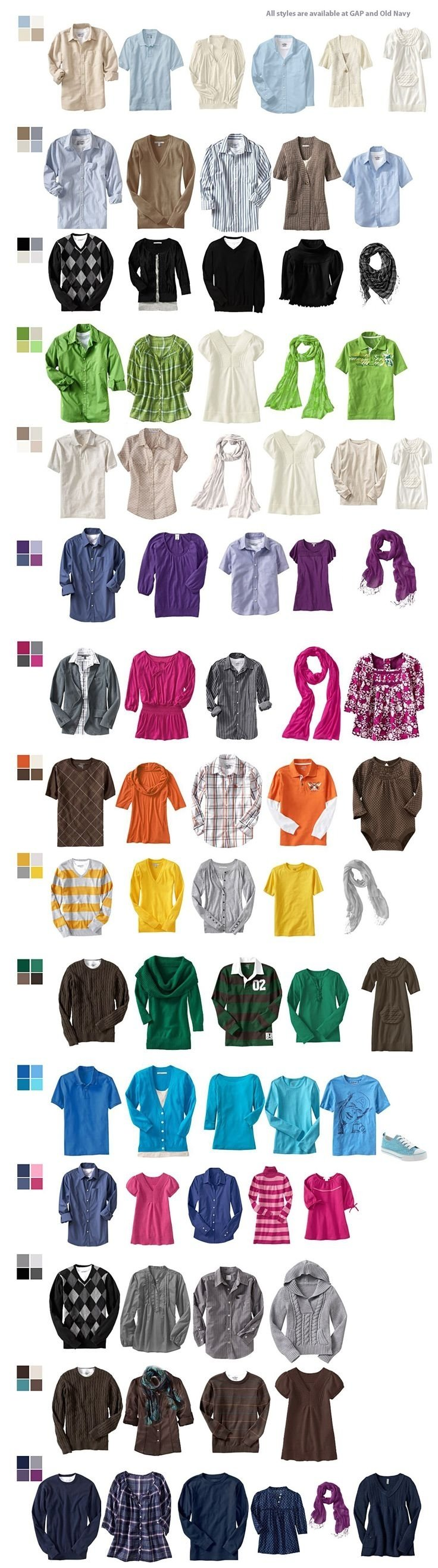 10 Lovable Color Ideas For Family Pictures 106 best family photo wardrobe color palette suggestions images on 1