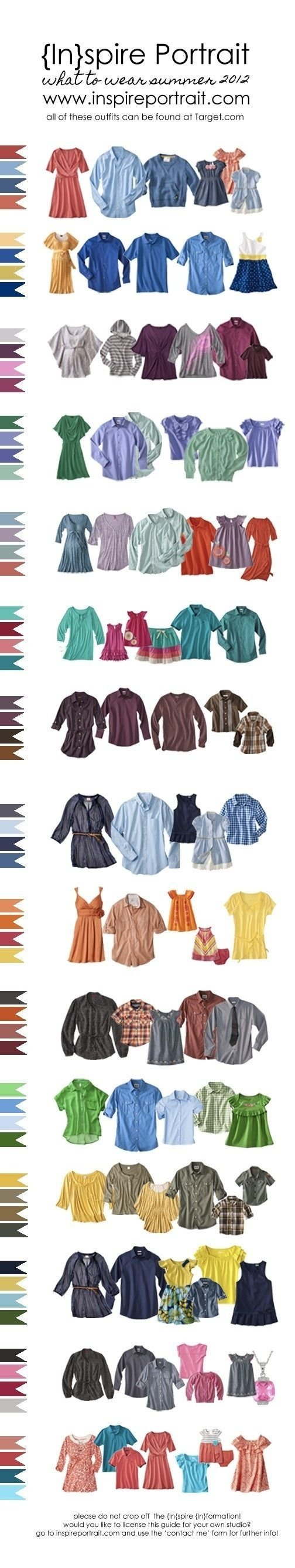 10 Lovable Color Ideas For Family Pictures 106 best family photo wardrobe color palette suggestions images on 2