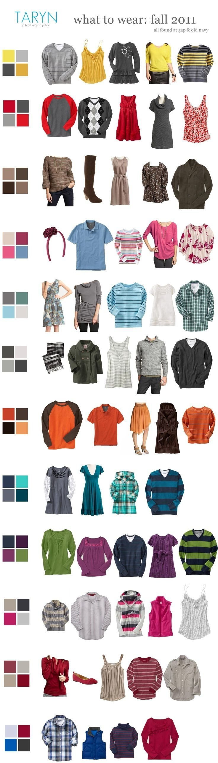 10 Lovable Color Ideas For Family Pictures 106 best family photo wardrobe color palette suggestions images on 3