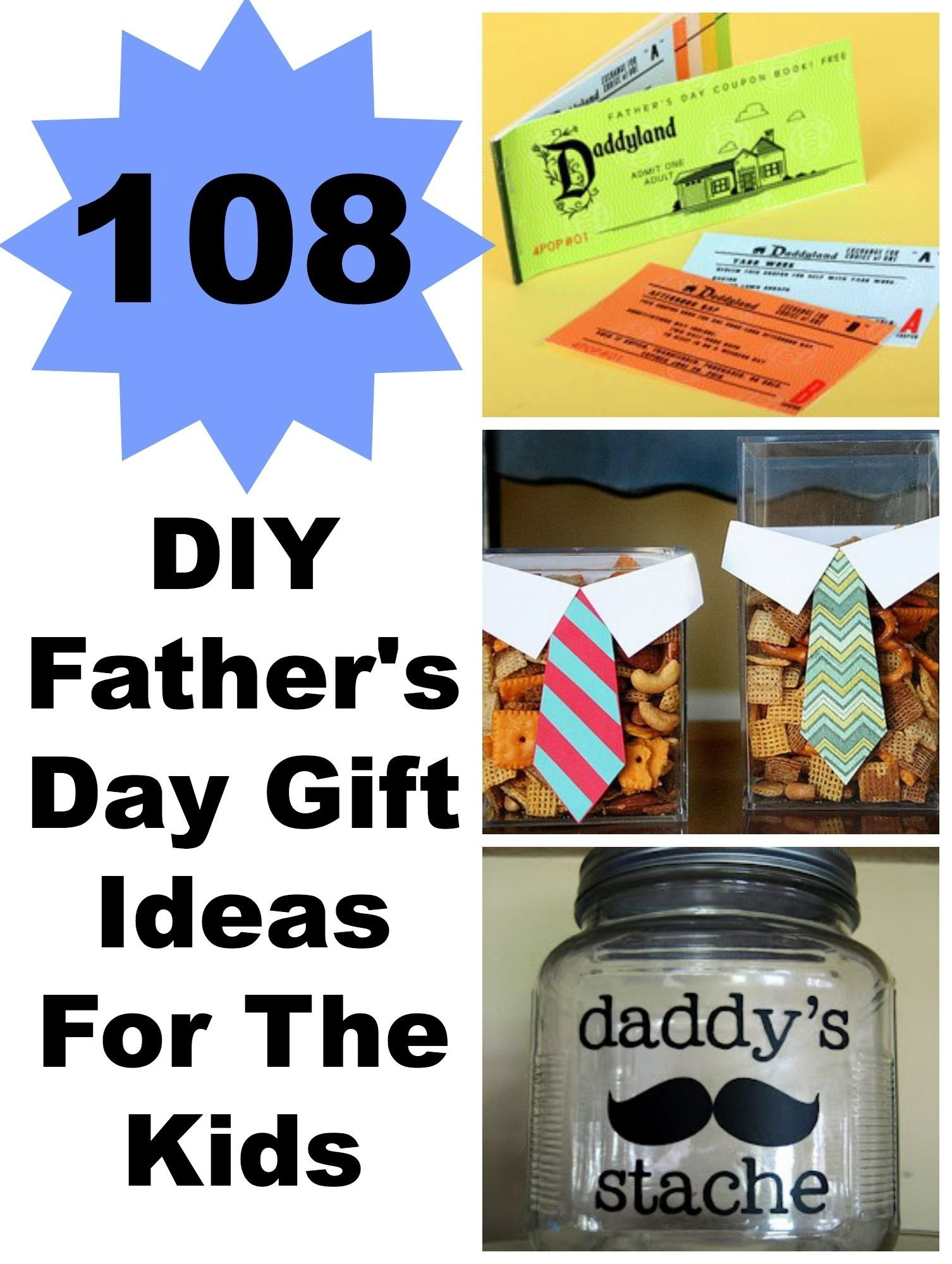 108 diy father's day gift ideas for the kids | easy diy projects