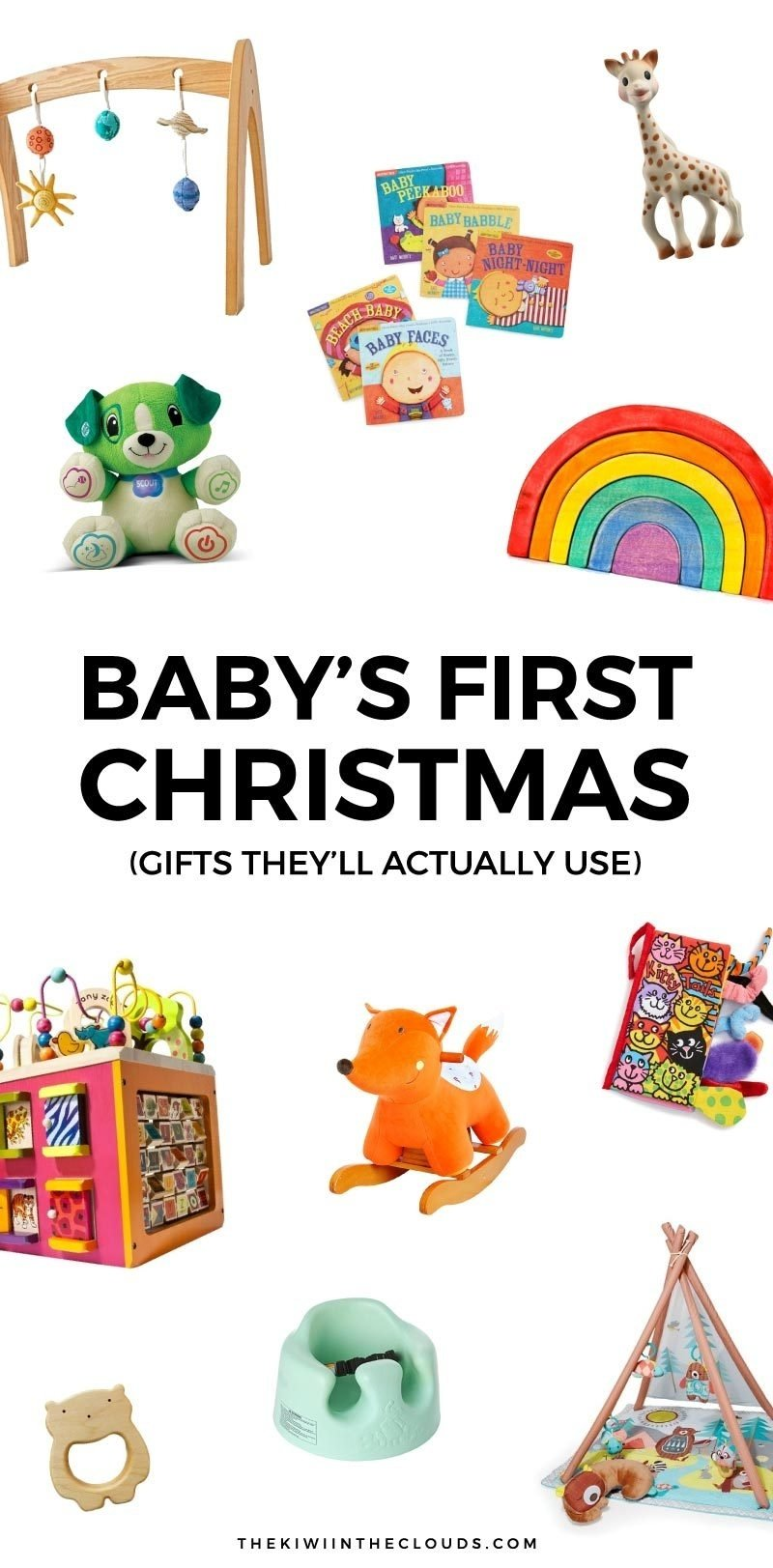 10 Ideal Baby First Christmas Gift Ideas 11 babys first christmas gifts that will actually get used 2020