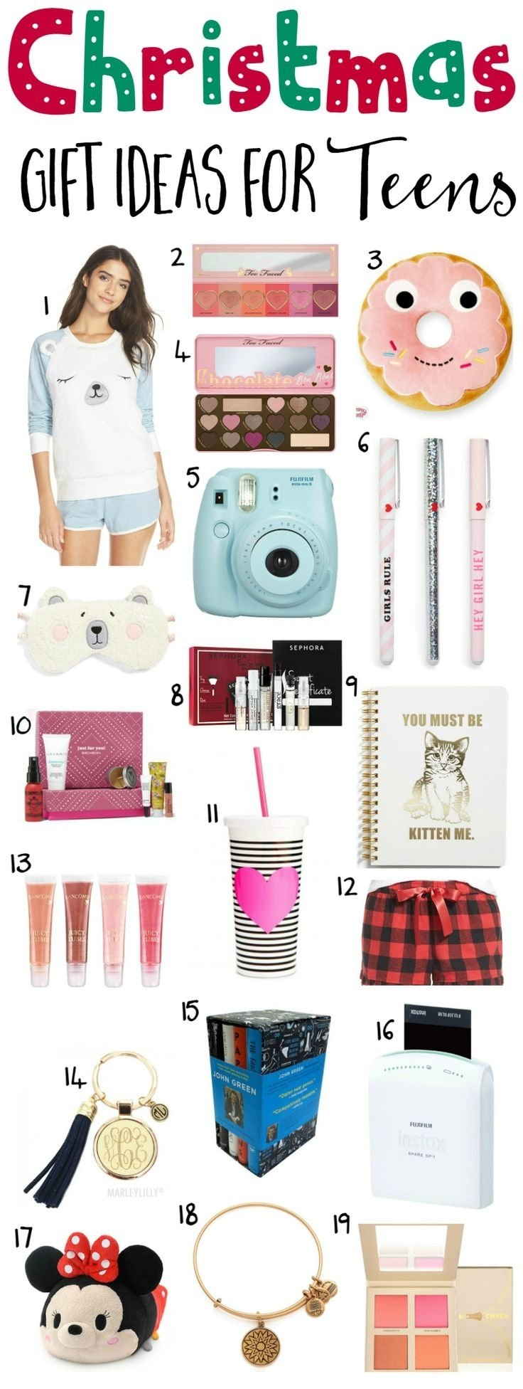 10 Perfect Christmas List Ideas For Teenage Girls