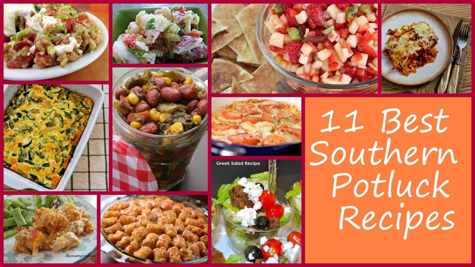 10 Cute Potluck Lunch Ideas For Work 11 best southern potluck recipes favehealthyrecipes 2021