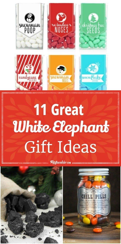 10 Spectacular Ideas For White Elephant Gift 11 great white elephant gift ideas tip junkie 3 2020