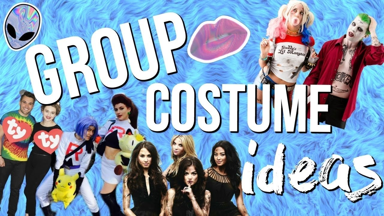 10 Gorgeous Halloween Costume Ideas For Groups 11 group halloween costume ideas 2016 last minute costume ideas 2 2020