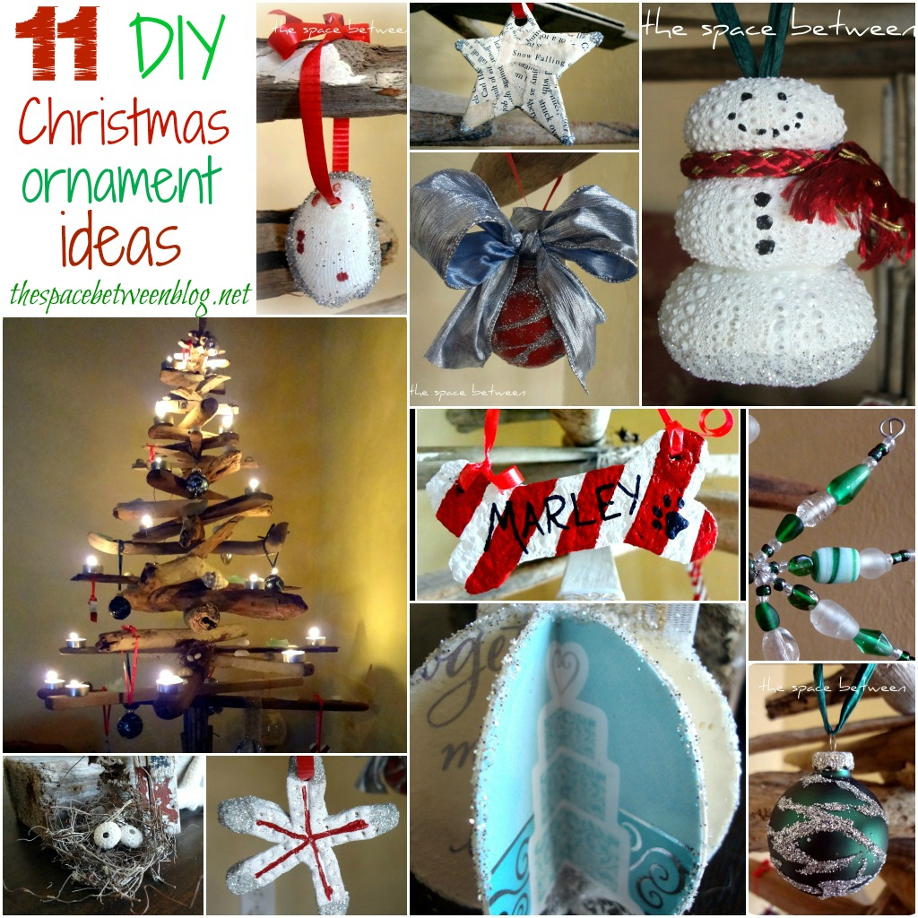 10 Attractive Ideas For Christmas Decorations To Make 11 homemade christmas ornament ideas 2
