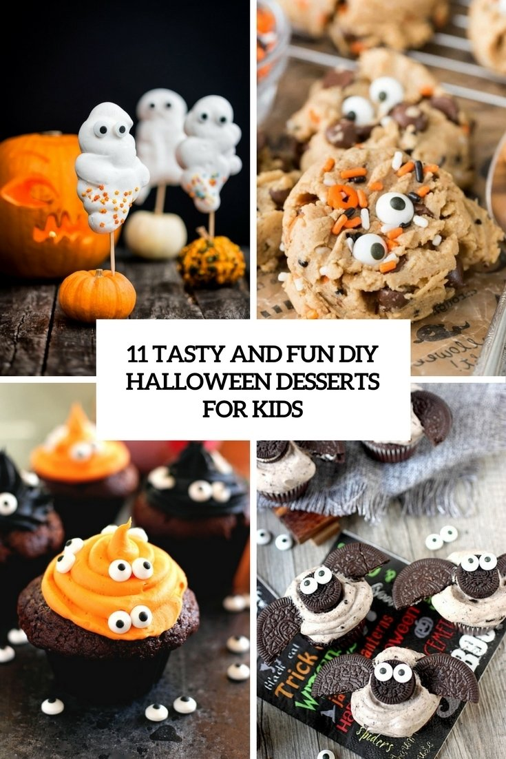 10 Awesome Halloween Baking Ideas For Kids 11 tasty and fun diy halloween desserts for kids shelterness 2020