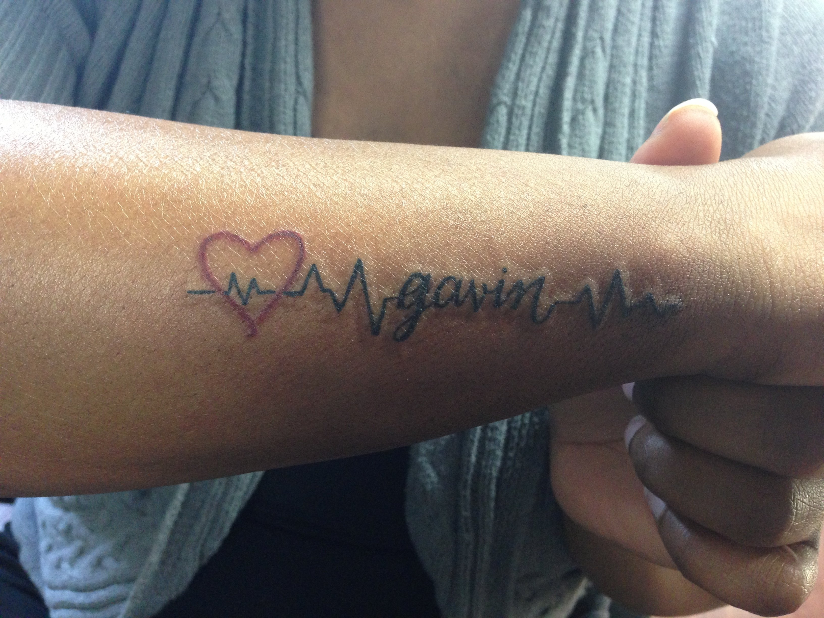 10 Fashionable Tattoo Ideas For Baby Names 11 tattoos to show your love for your kids that are more than just