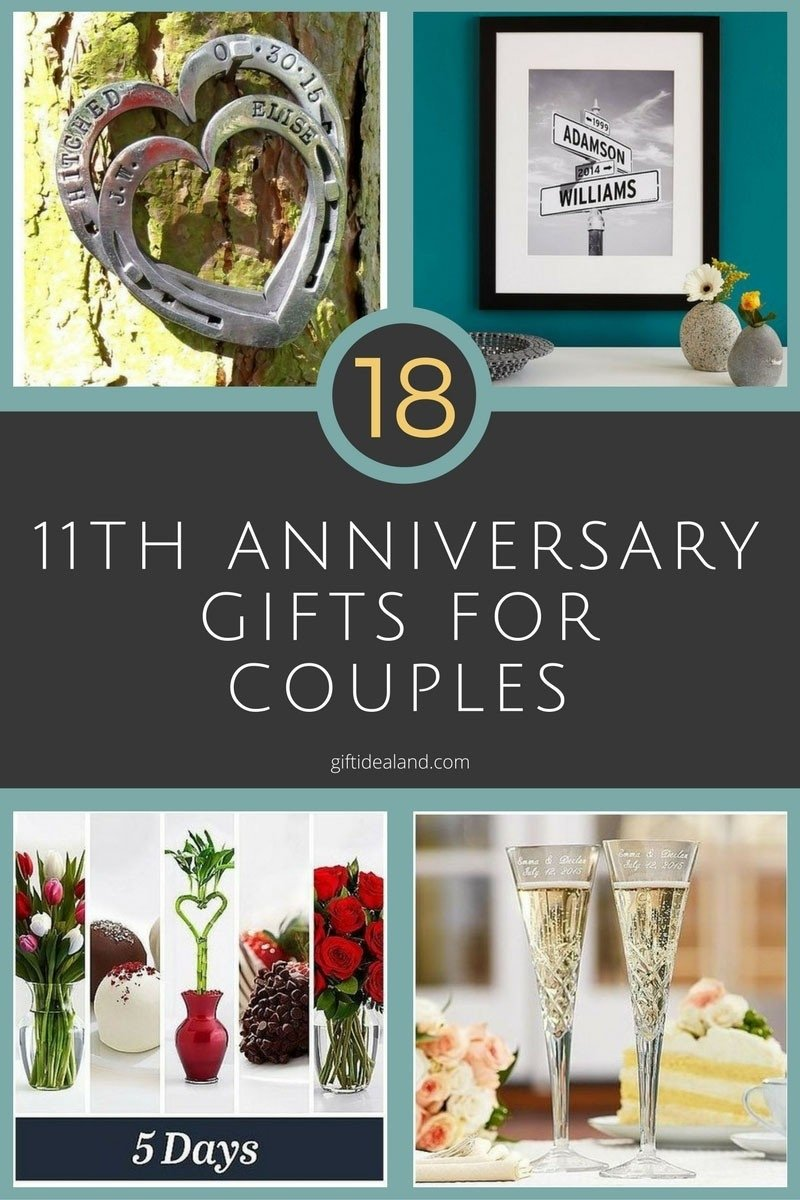 10 Elegant Good Ideas For Anniversary Gifts 11 year wedding anniversary gift ideas new 35 good