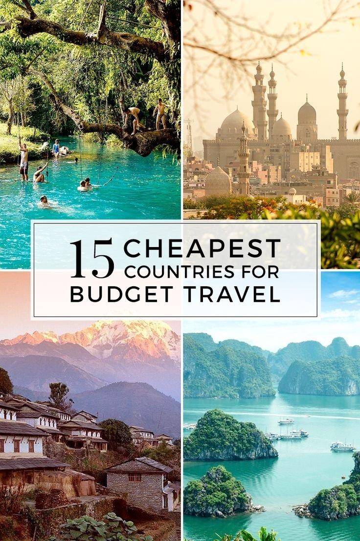 10 Lovable Cheap Vacation Ideas For Couples 111 best destinations pour petits budgets images on pinterest 1 2020