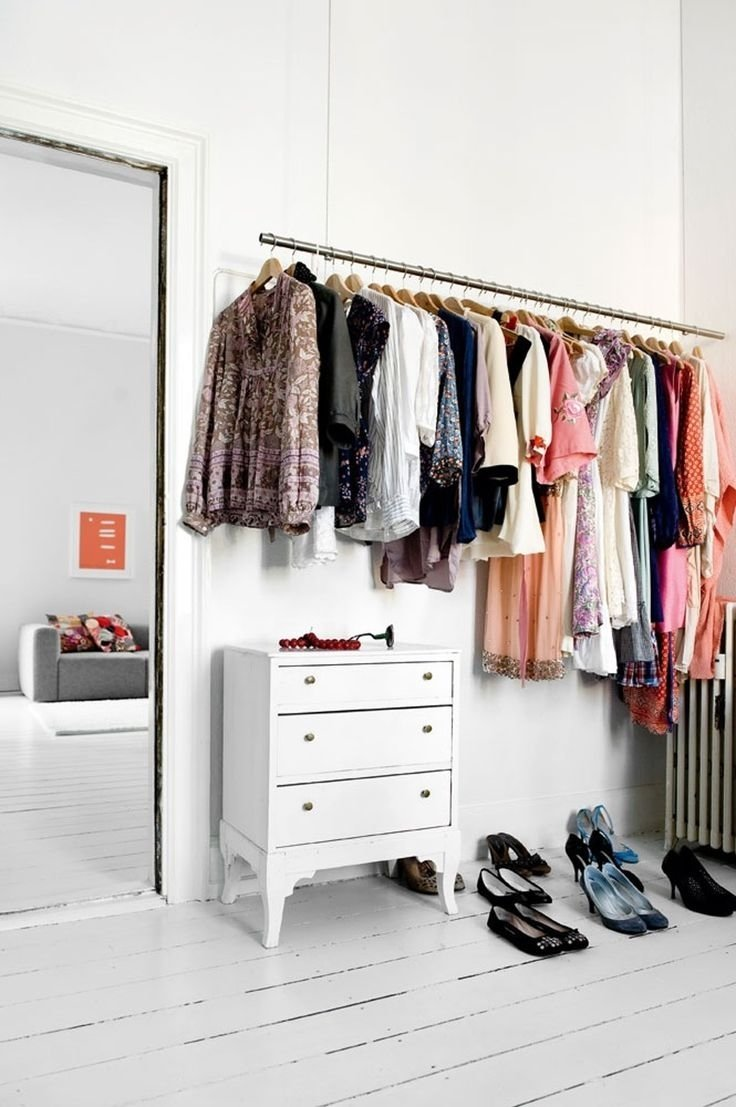10 Attractive Closet Ideas For Rooms Without Closets 116 best walk in closet kladkammare images on pinterest walk in 2020