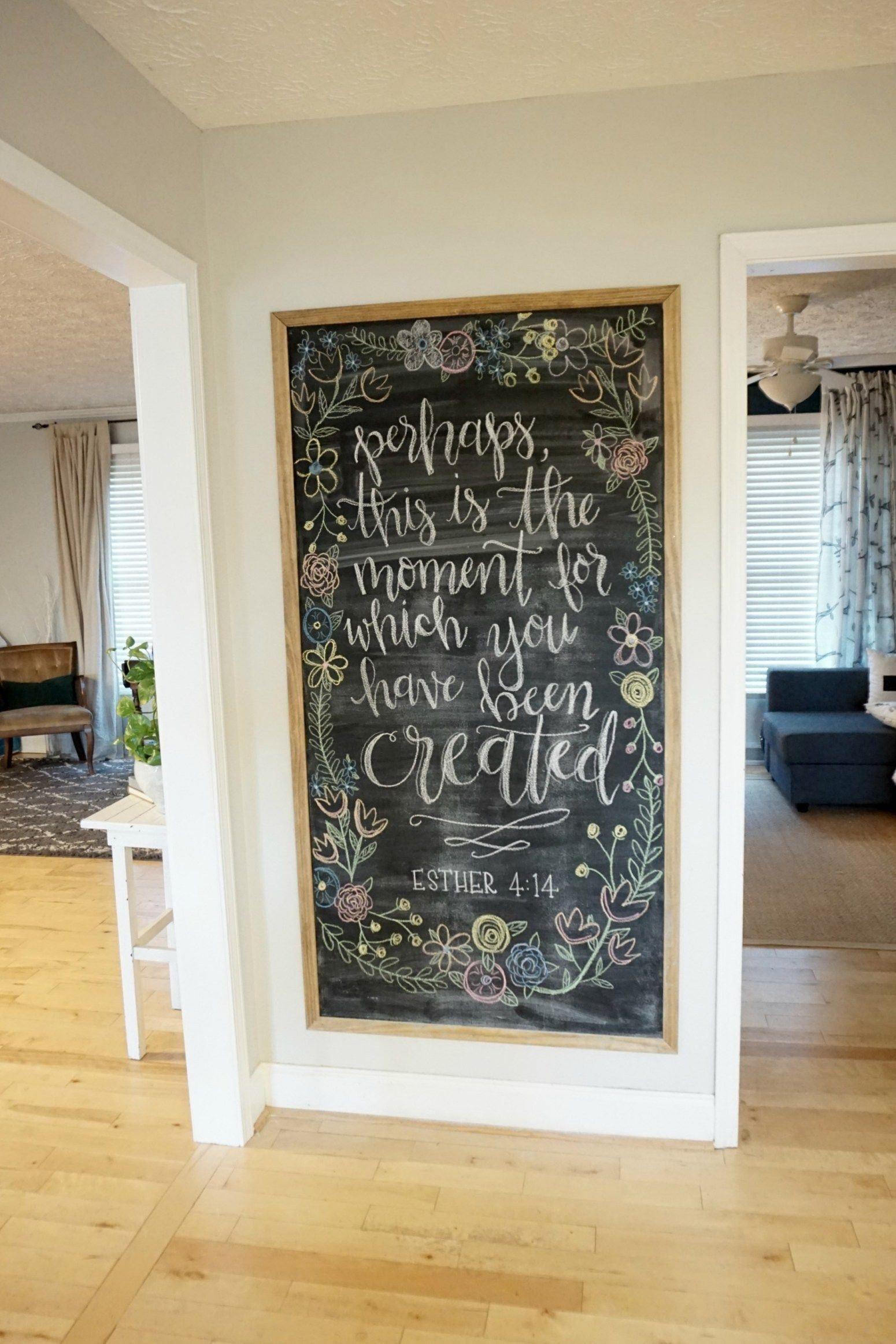 12 affordable ideas for large wall decor | decorate large walls, big
