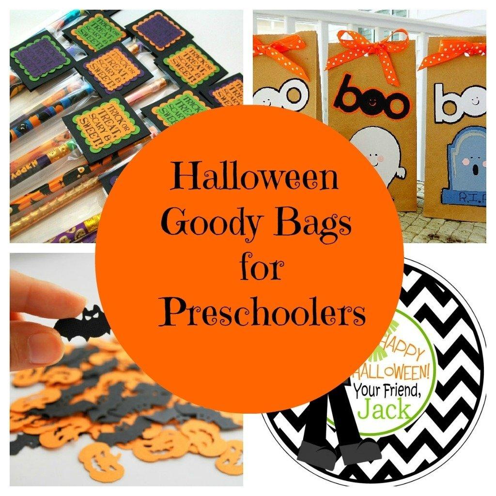 12 boo-tiful ideas for preschool halloween goodie bags   halloween