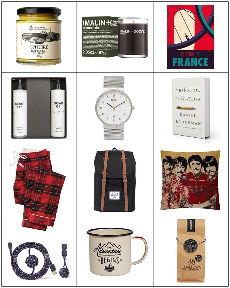 10 Pretty Christmas Gifts Ideas For Men 12 christmas gift ideas for men cocos tea party 8 2020