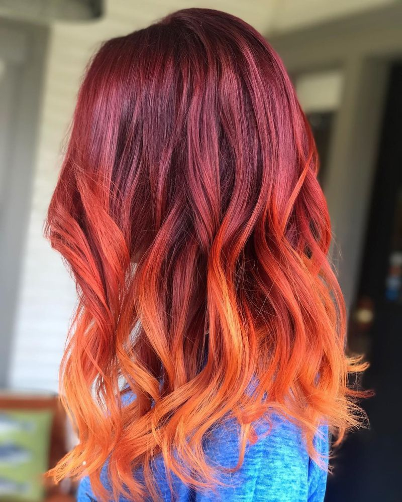 12 cool ombré color ideas for red hair | women's lifestyle in 2019