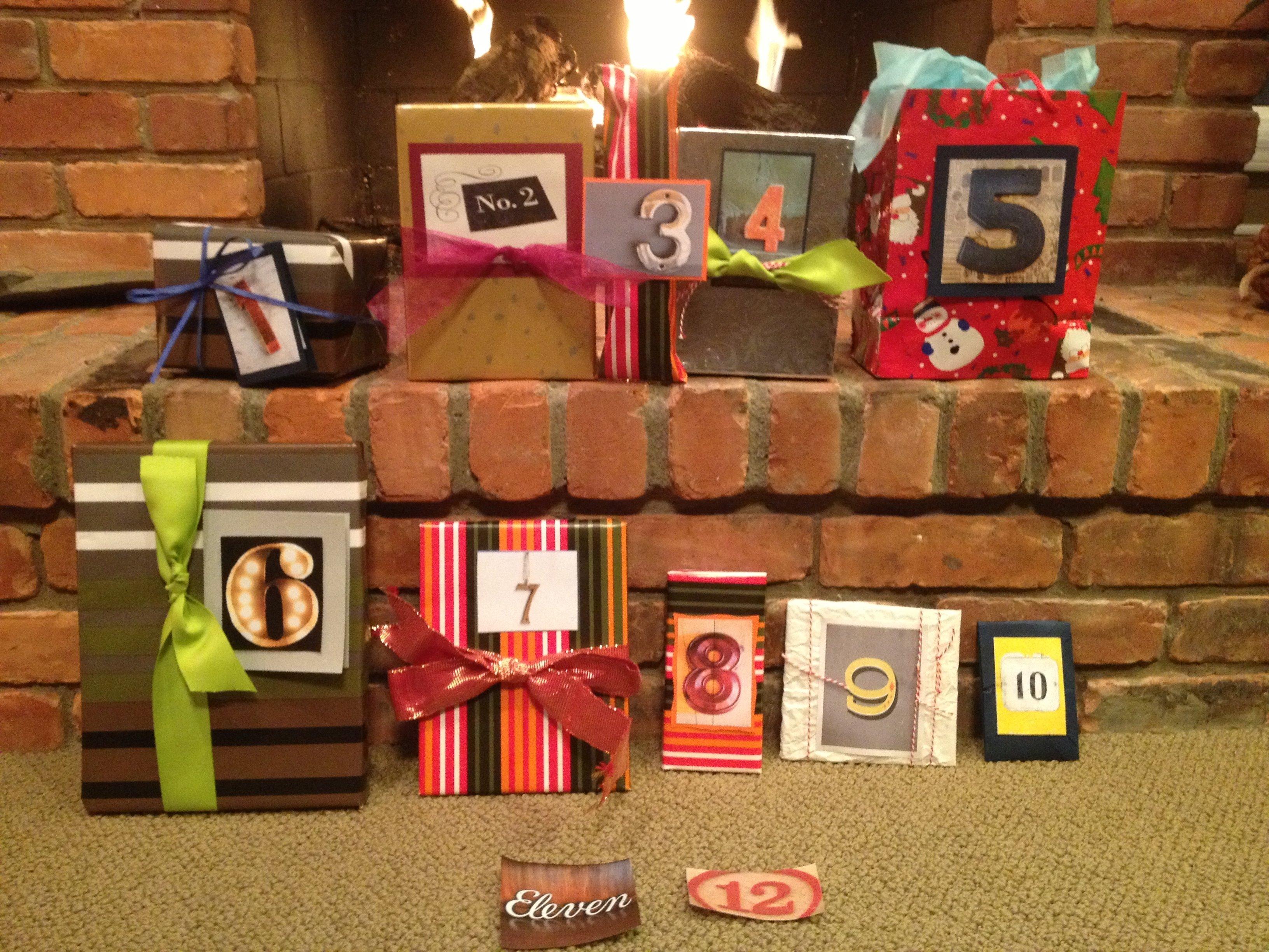 10 Stylish 12 Days Of Christmas Ideas For Boyfriend 12 days of christmas for my boyfriend he gets to open a small gift 4