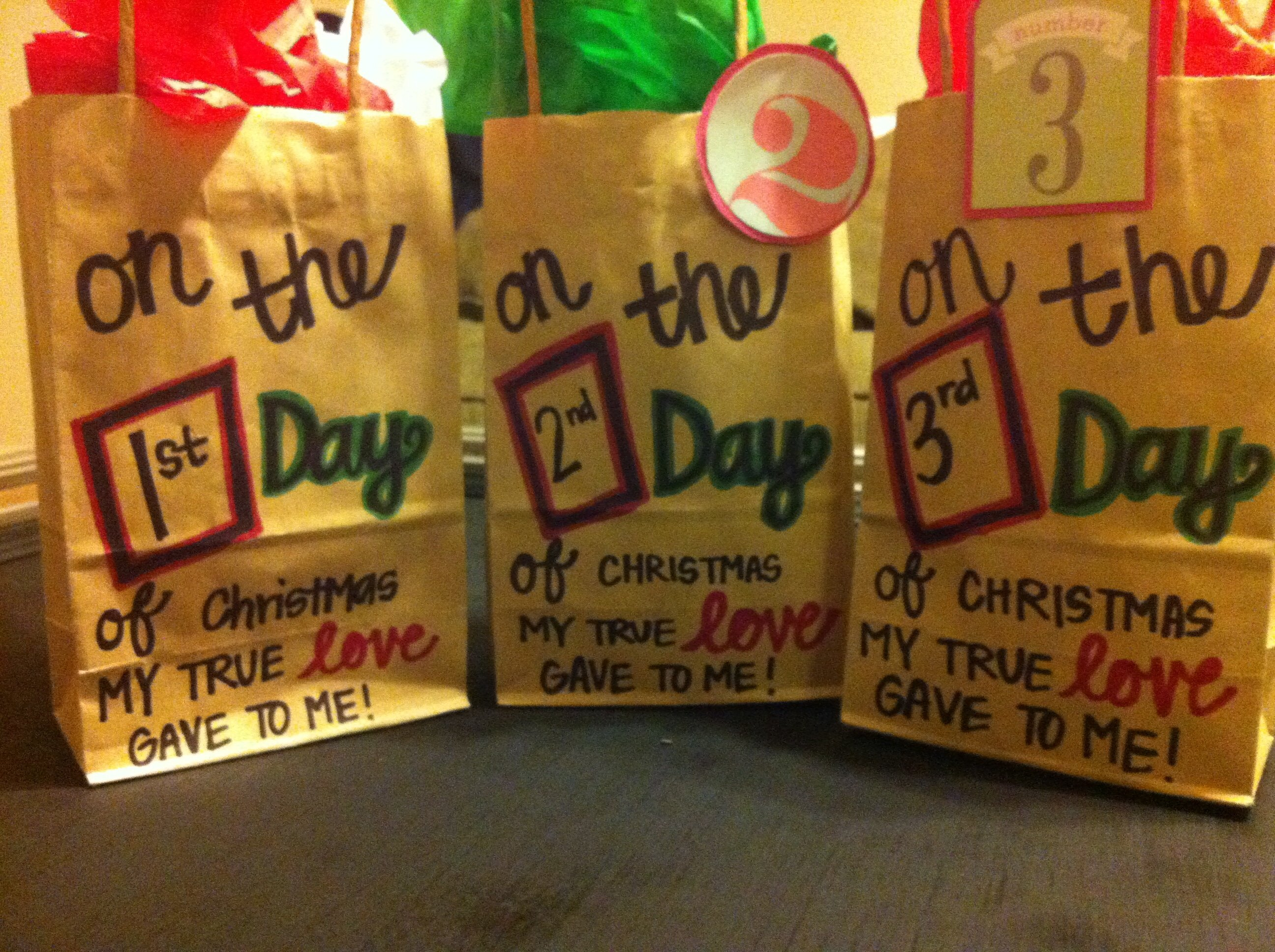 10 Attractive 12 Days Of Christmas Present Ideas 12 days of christmas for my husband to be our creations 6 2020