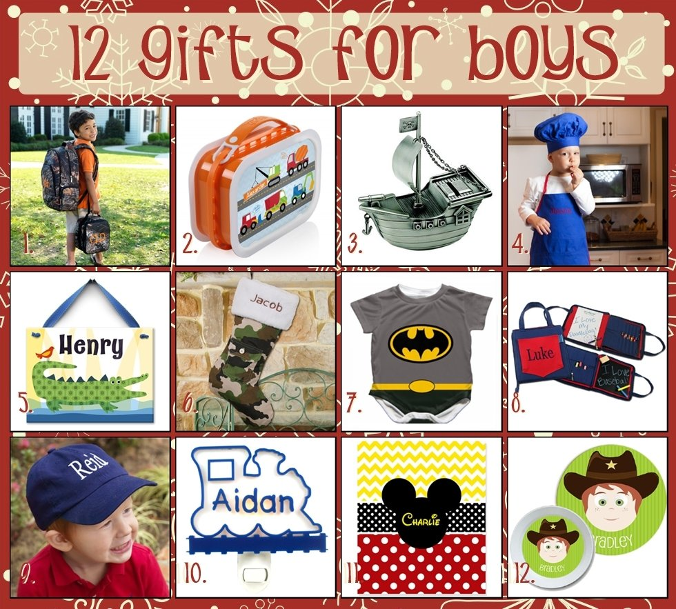 12 days of christmas - gift ideas for boys - the cute kiwi