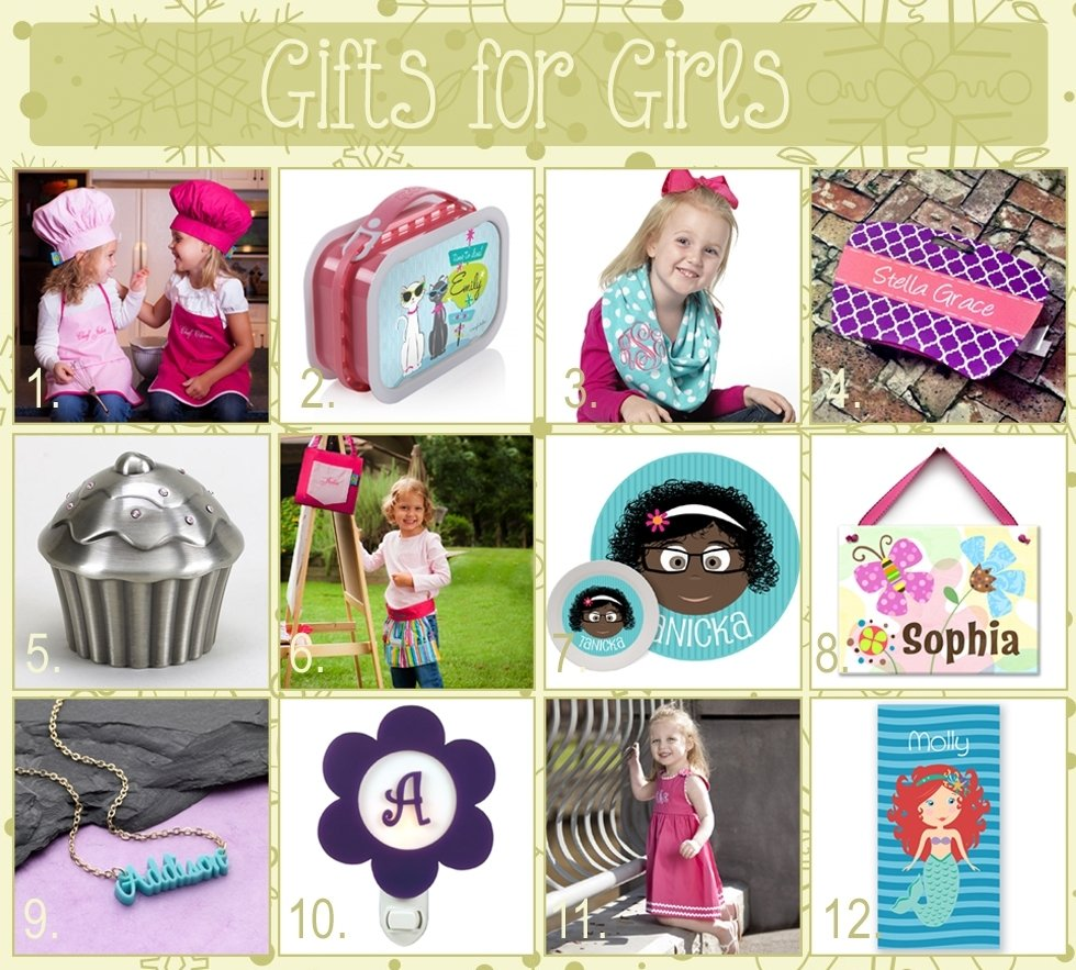10 Fashionable Gift Ideas For Toddler Girl 12 days of christmas gift ideas for girls the cute kiwi 1