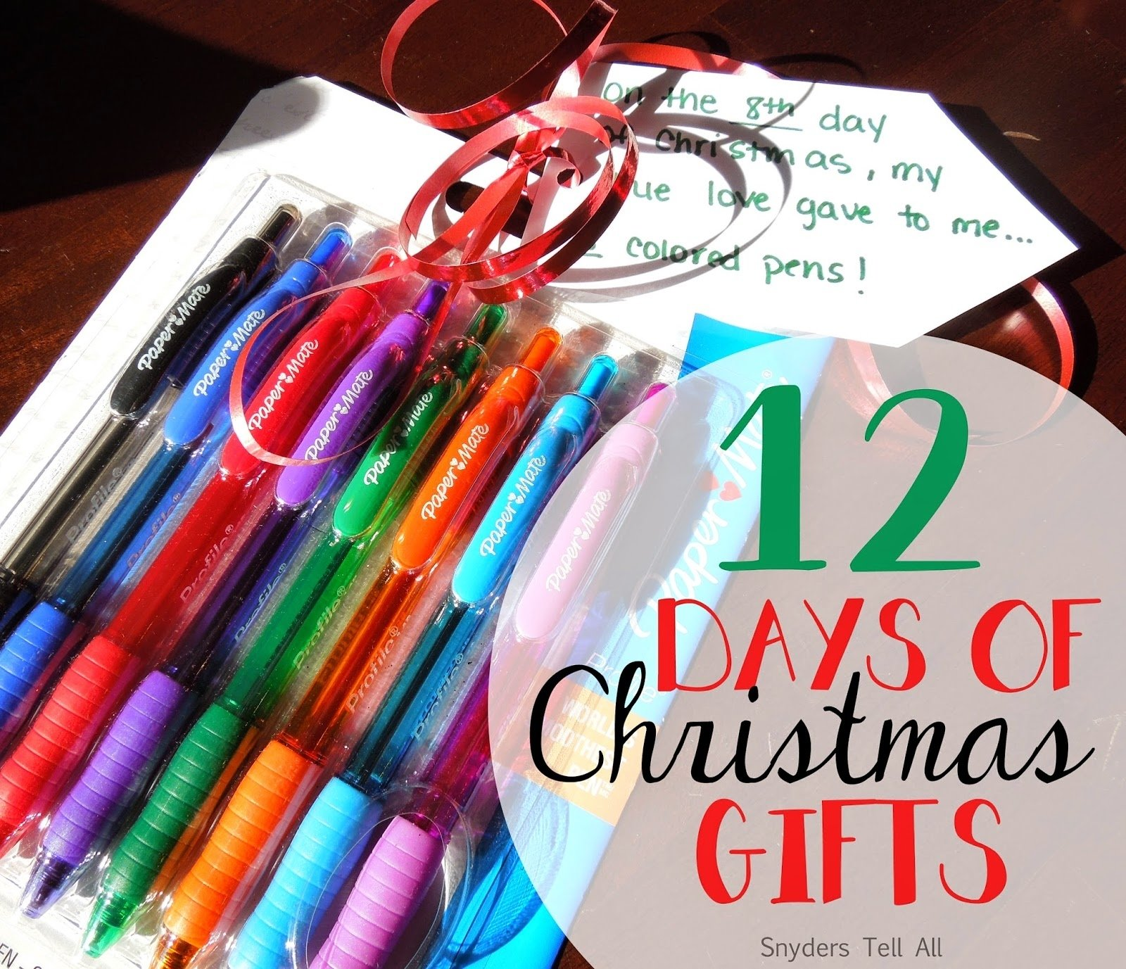 10 Gorgeous 12 Days Of Christmas Gift Ideas For Kids 12 days of christmas gifts joyfully prudent 1 2020