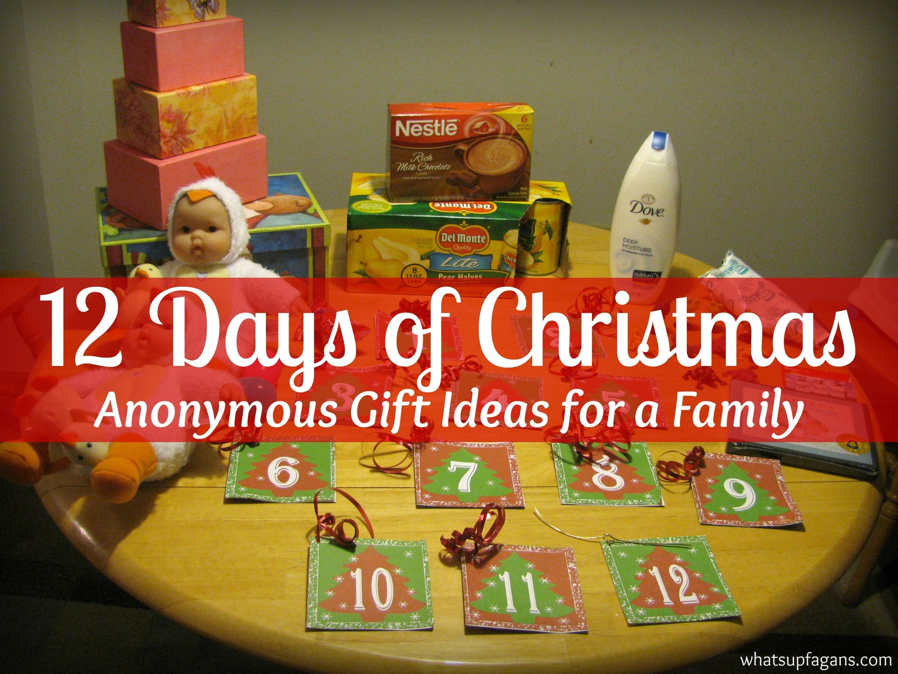 10 Gorgeous 12 Days Of Christmas Gift Ideas For Kids 12 days of christmas secret santa gift ideas 1 2020