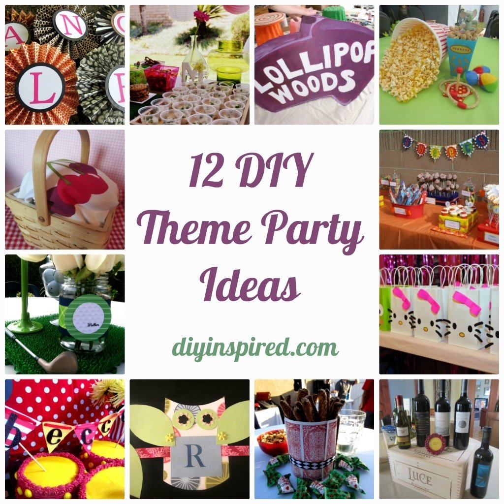 10 Best Party Favors For Adults Ideas 12 diy theme party ideas ideas party party time and birthdays