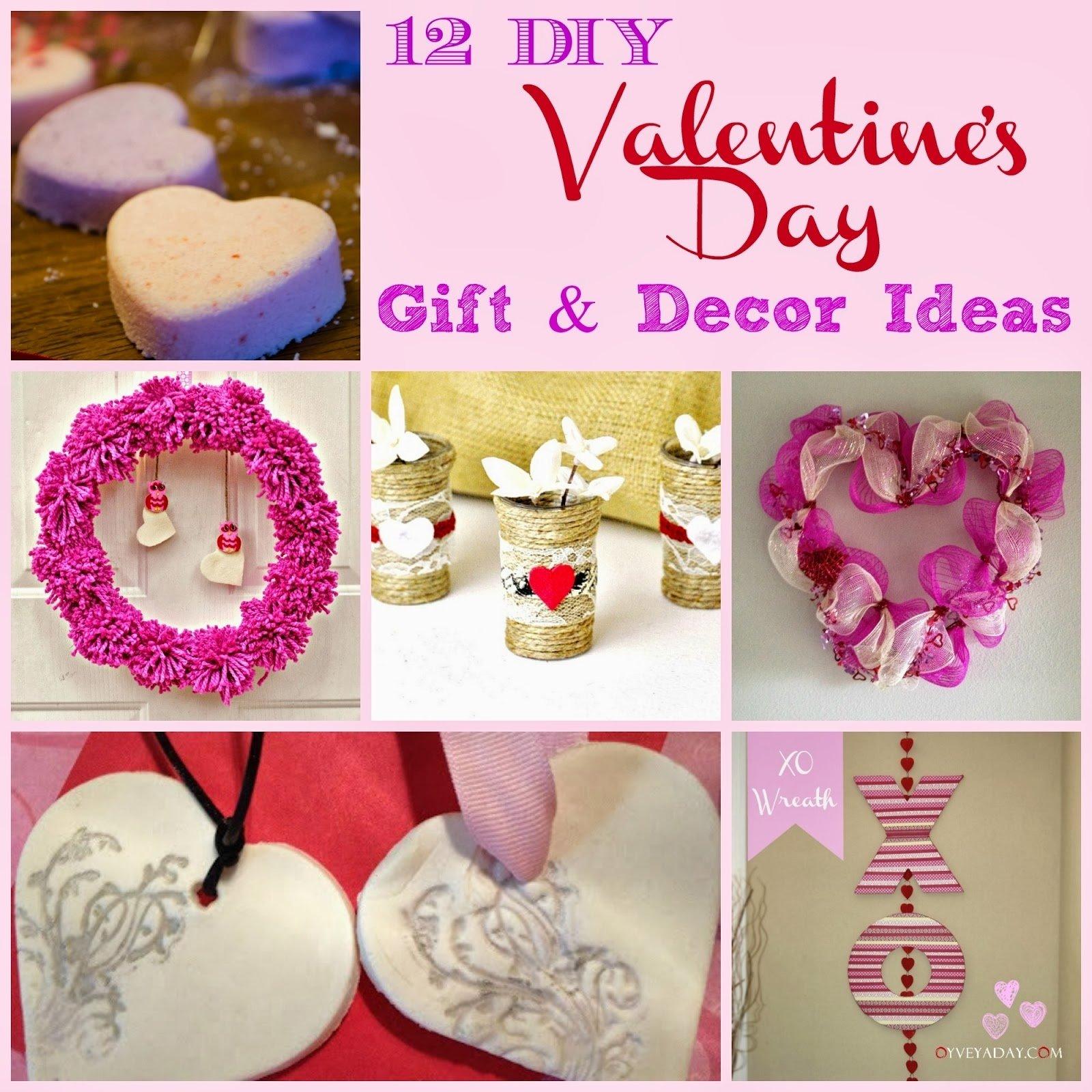 10 Attractive Craft Ideas For Valentines Day 12 diy valentines day gift decor ideas diys 2021