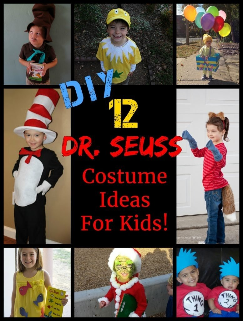 10 Nice Dr Seuss Character Costume Ideas 12 easy diy dr seuss costume ideas for kids 2020