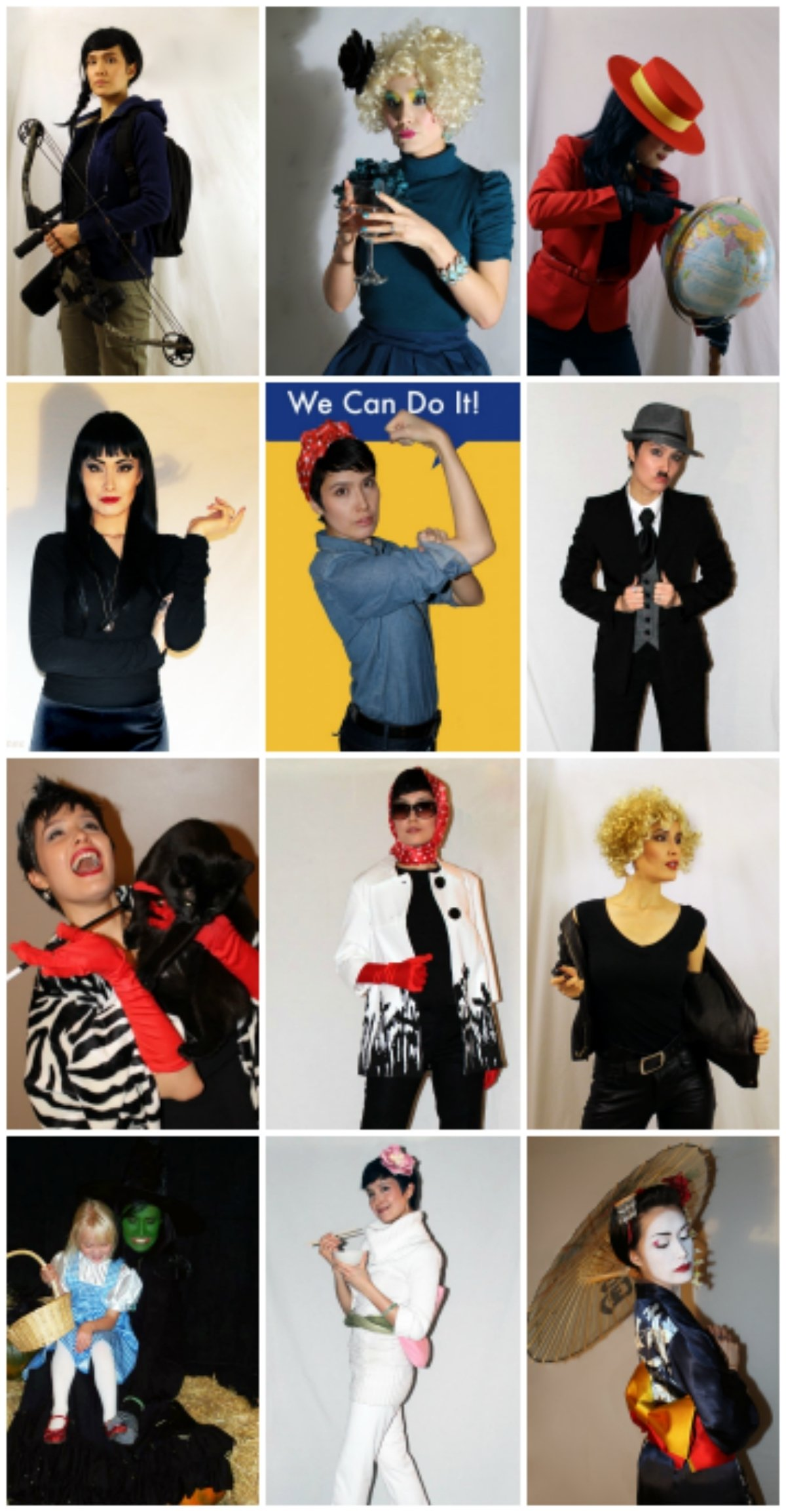 10 Cute Easy Ideas For Halloween Costumes 12 easy halloween costumes from your closet halloween costume link 6