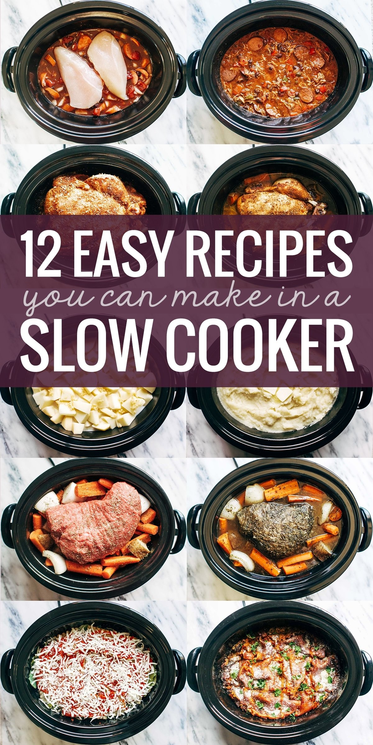 10 Stylish Ideas For Crock Pot Meals 12 easy recipes you can make in a slow cooker pinch of yum 1 2021