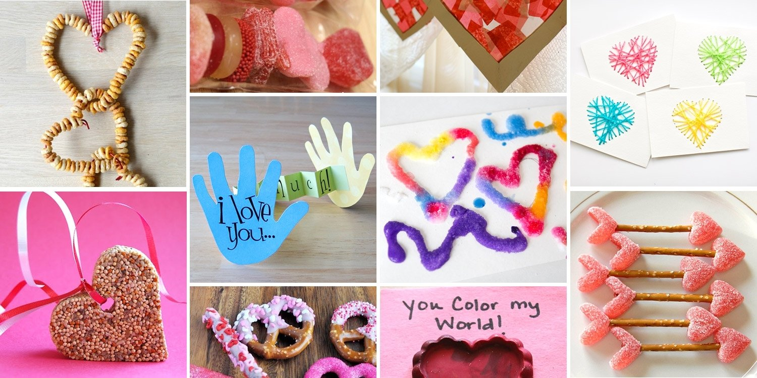 10 Unique Valentines Gift Ideas For Kids 12 easy valentines day crafts for kids style motivation 1