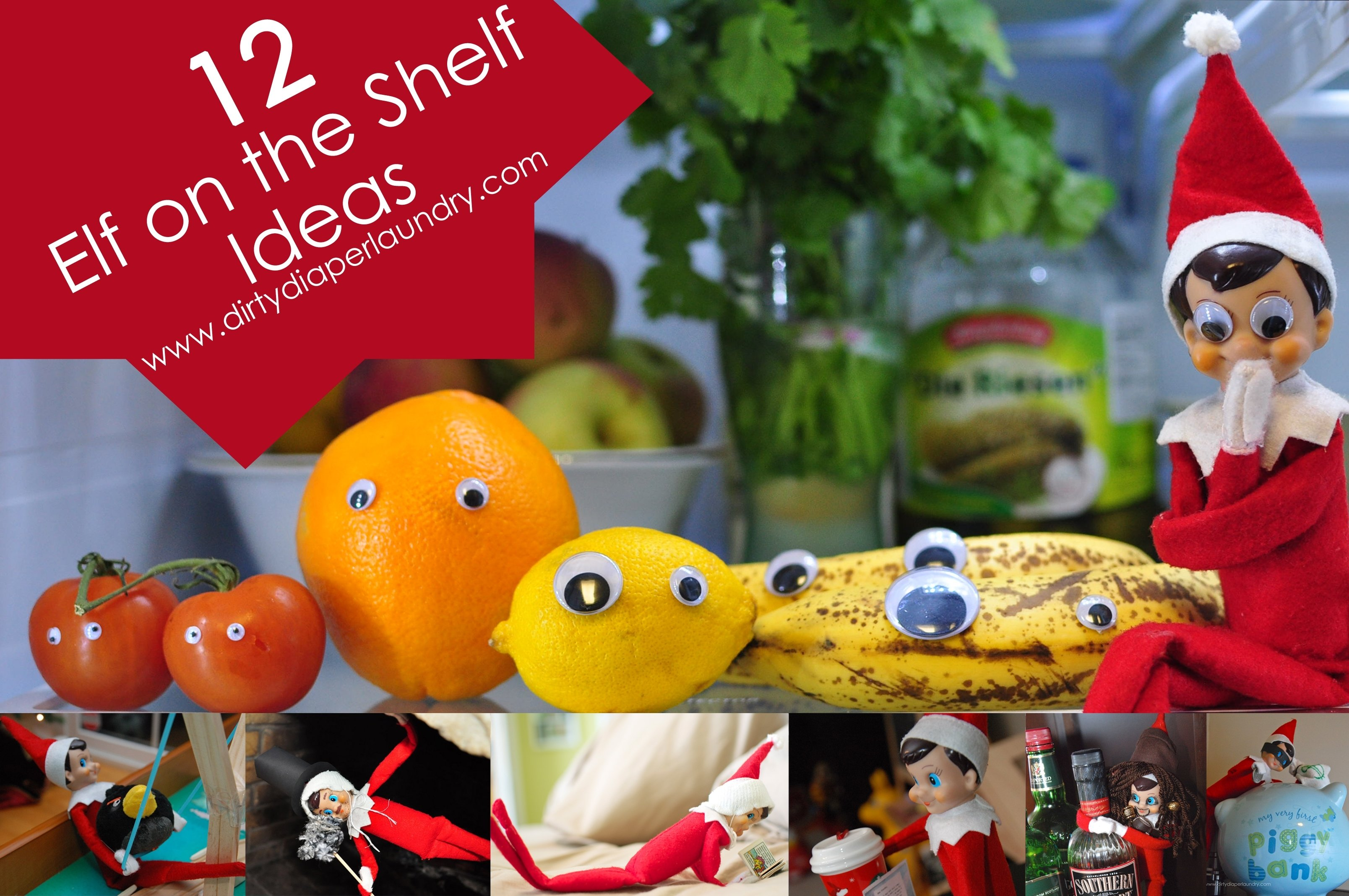 10 Stylish Dirty Elf On The Shelf Ideas 12 elf on the shelf ideas dirty diaper laundry 2020