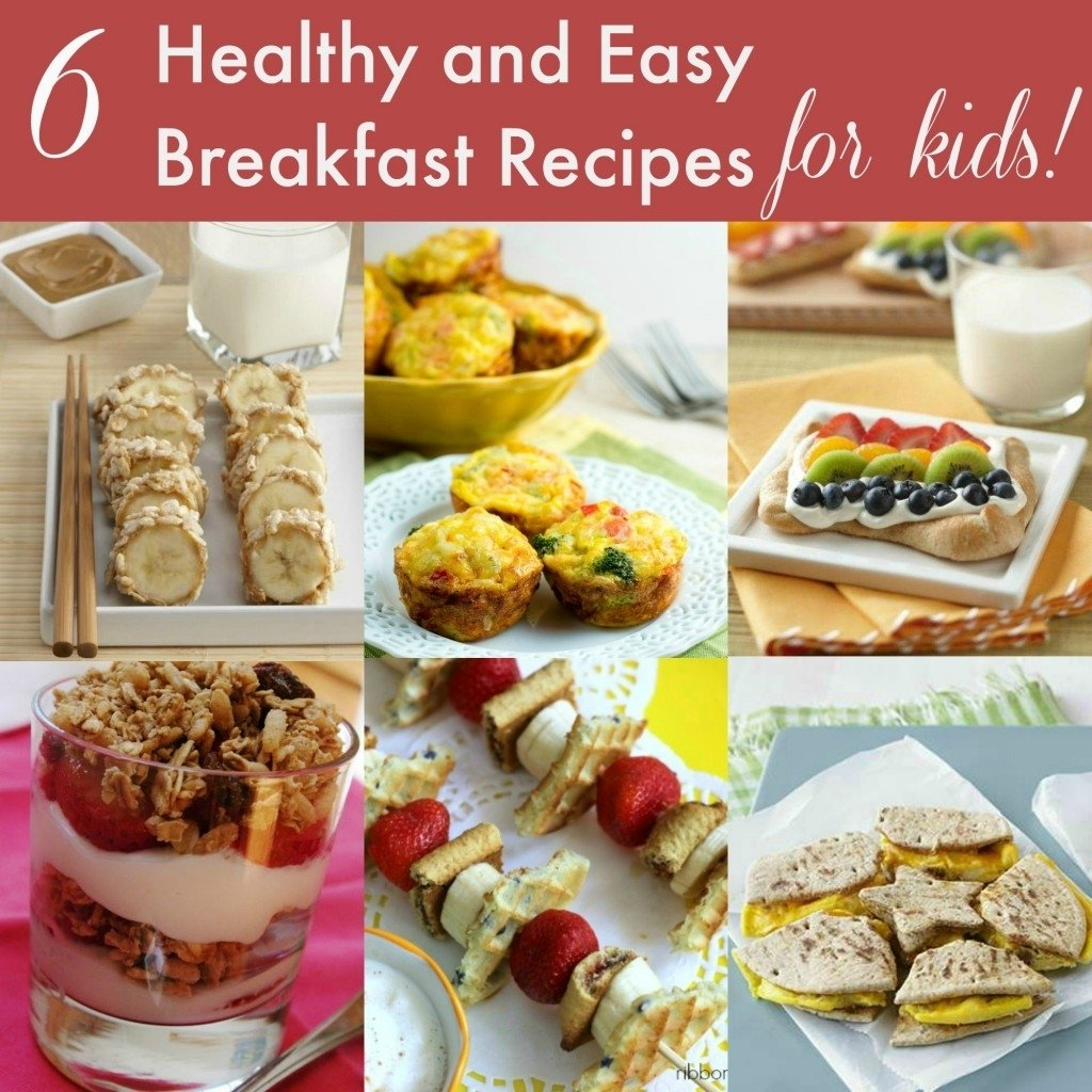 12 healthy breakfast and snack ideas for kids | life without pink