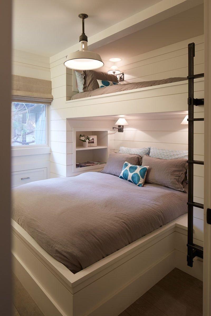 10 Elegant Built In Bunk Bed Ideas