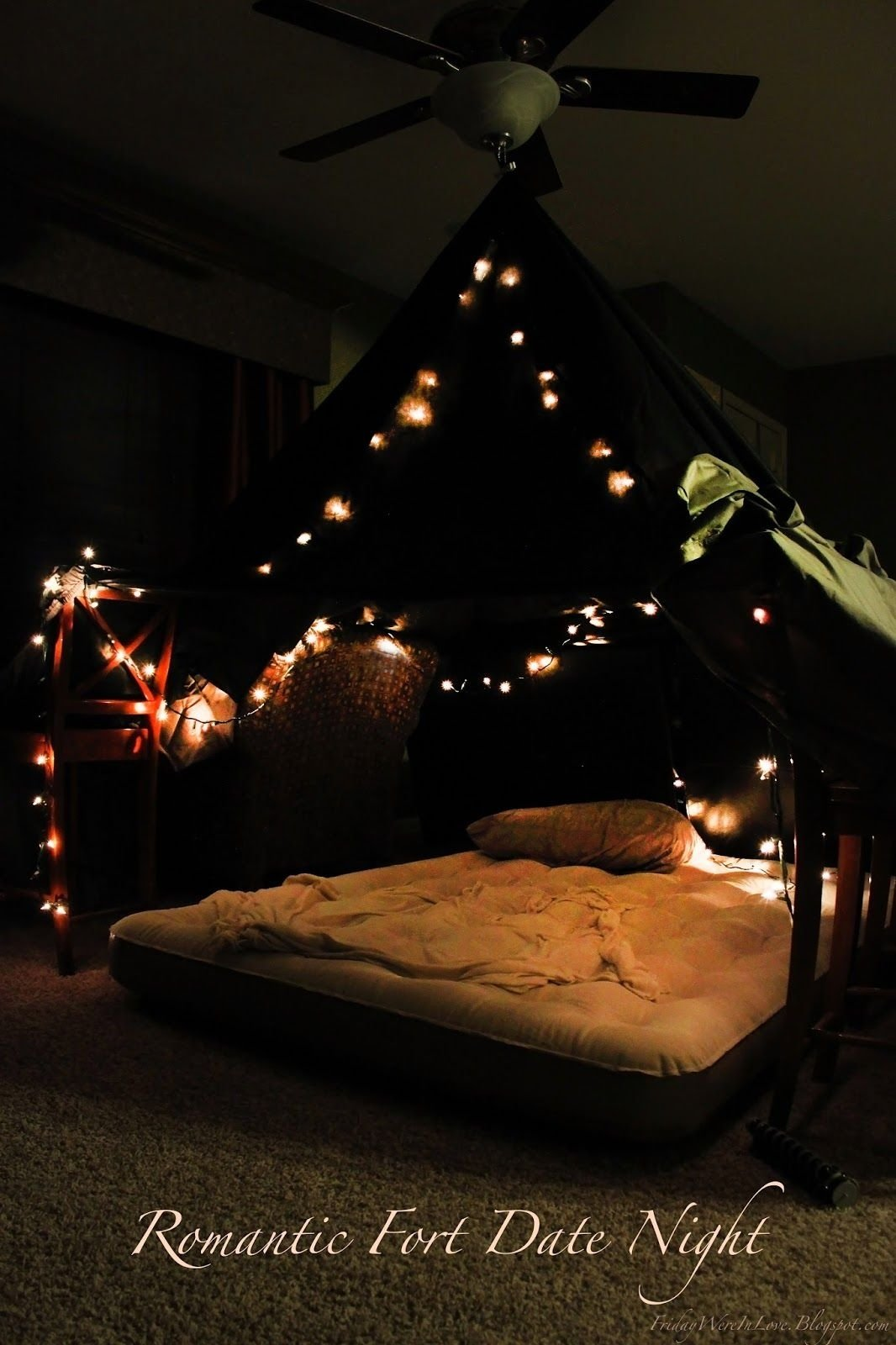 10 Unique Romantic At Home Date Ideas 12 months of dates january romantic fort night forts romantic 4