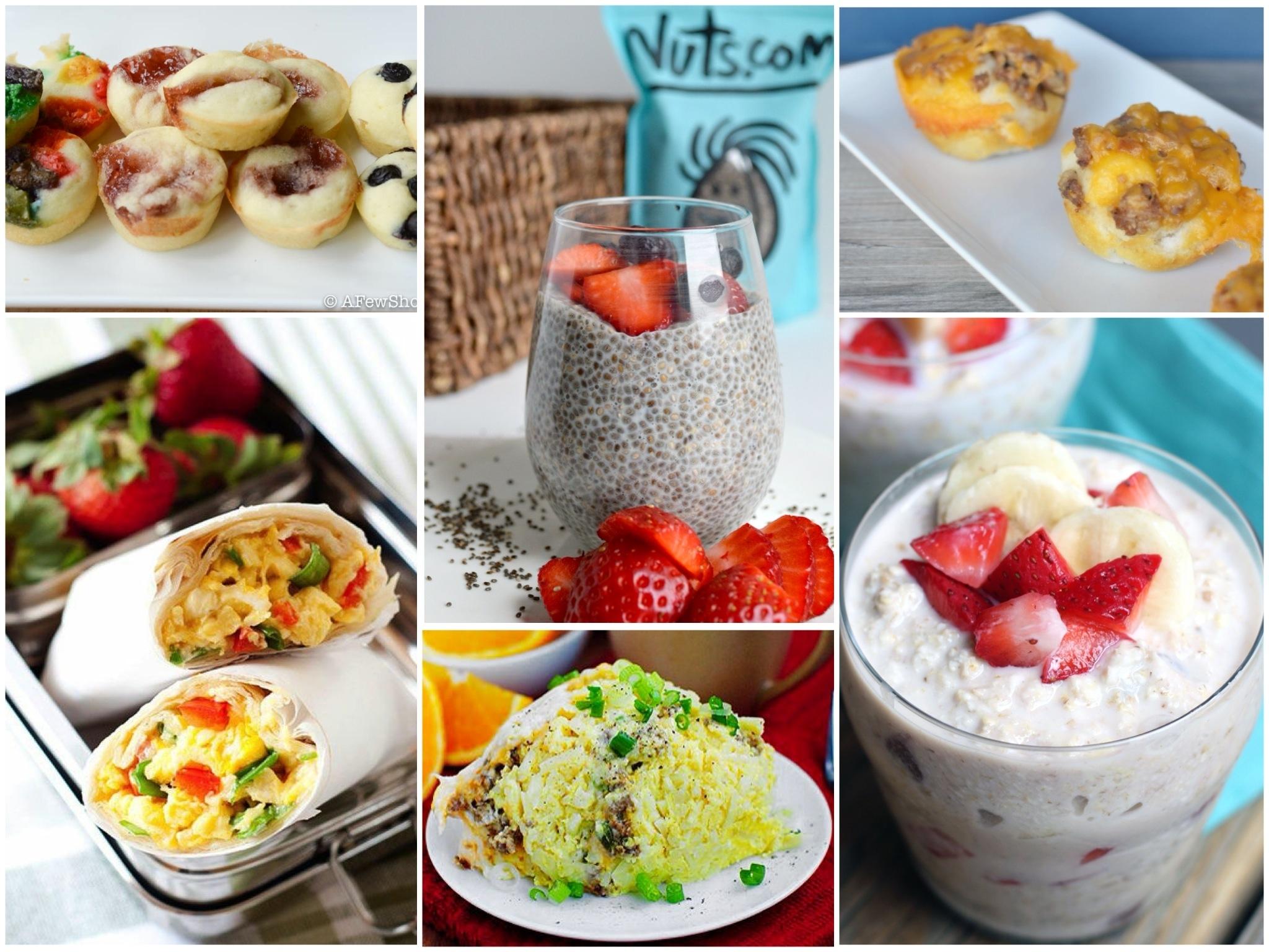 10 Stunning On The Go Breakfast Ideas %name