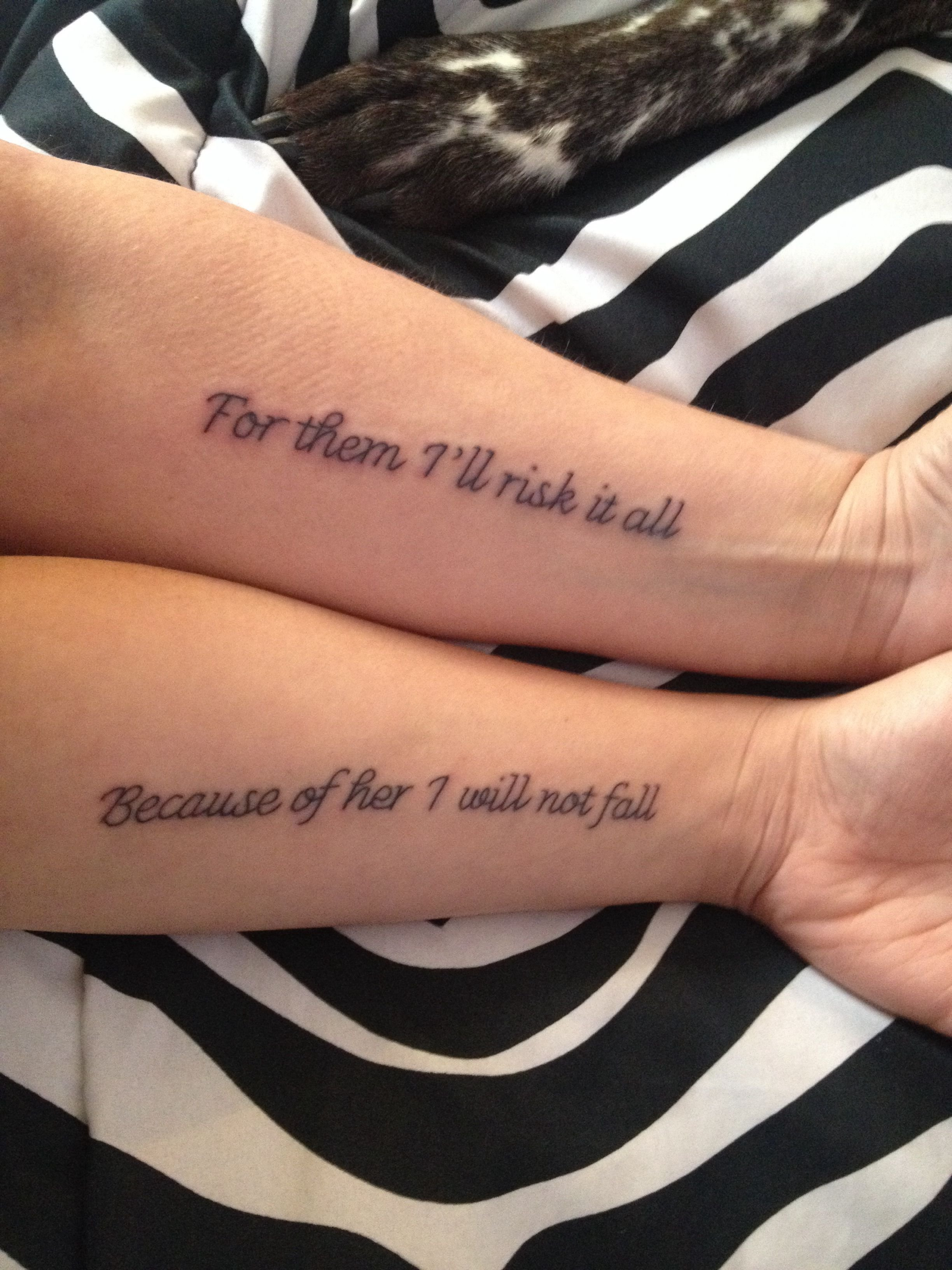 10 Fabulous Mother And Son Tattoo Ideas 12 pretty mother daughter tattoo designs daughter tattoos tattoo 1
