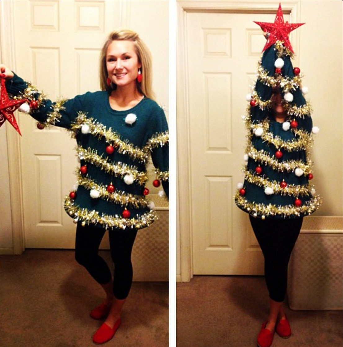 12 tips for throwing a tacky christmas sweater party » apartment