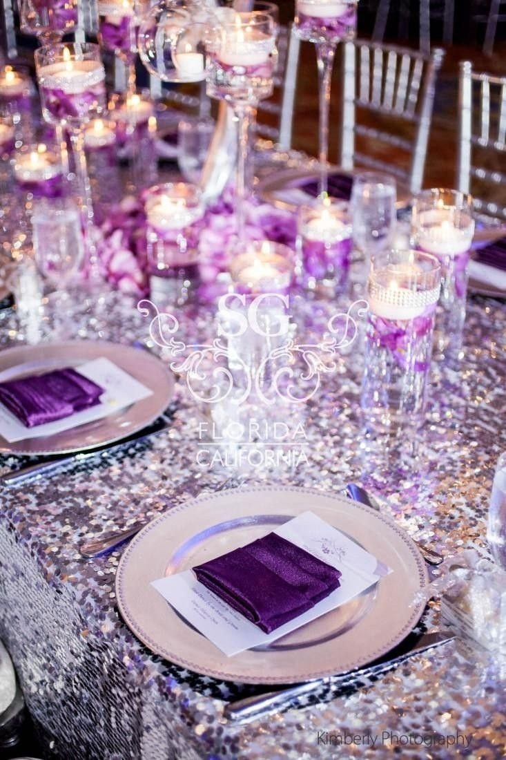10 Fabulous Purple And Silver Wedding Ideas 120 adorable sweetheart table decor ideas sweetheart table