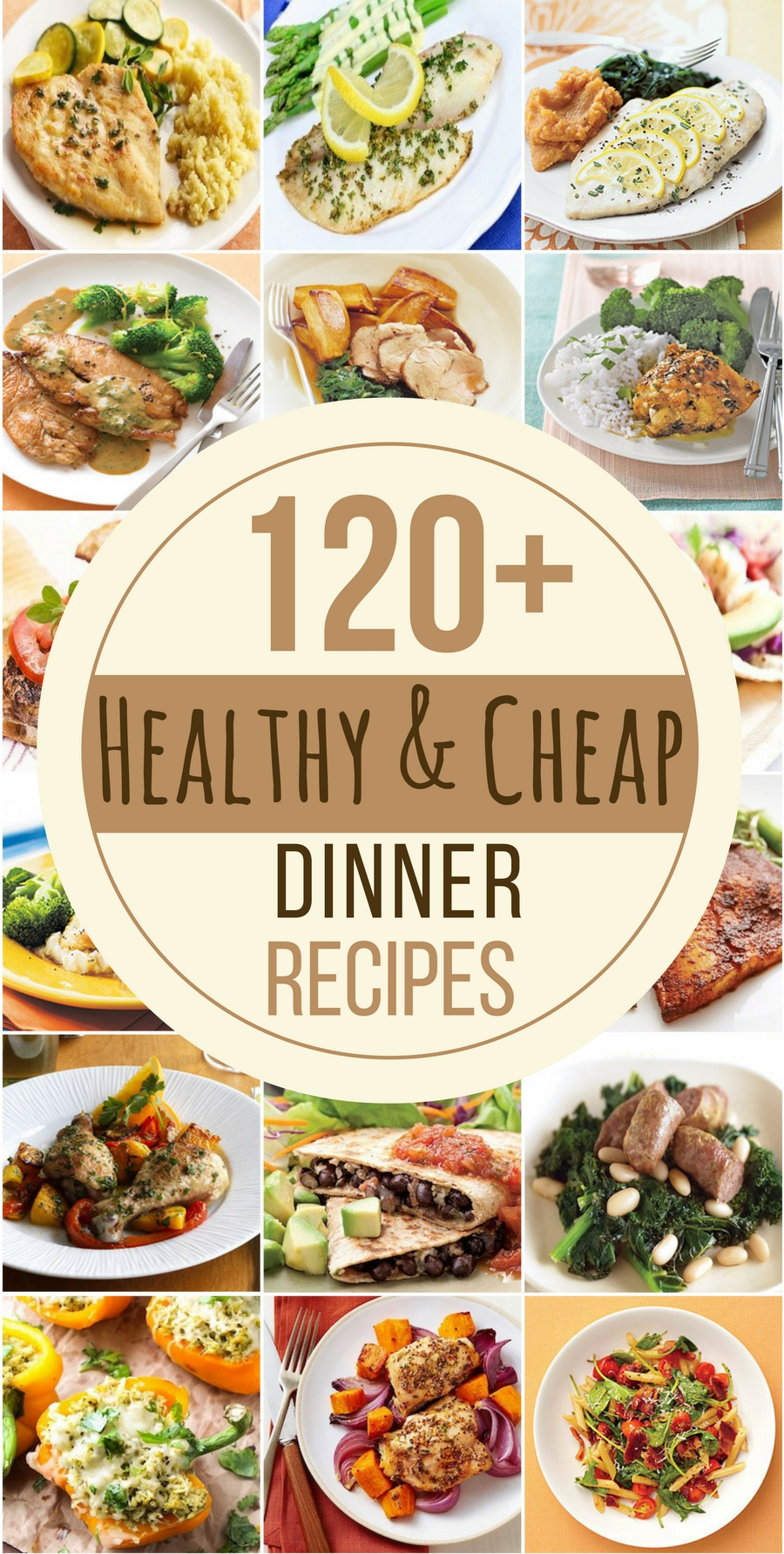 10 Fabulous Cheap Meal Ideas For Families 120 healthy and cheap dinner recipes healthy dinner recipes meal 2021