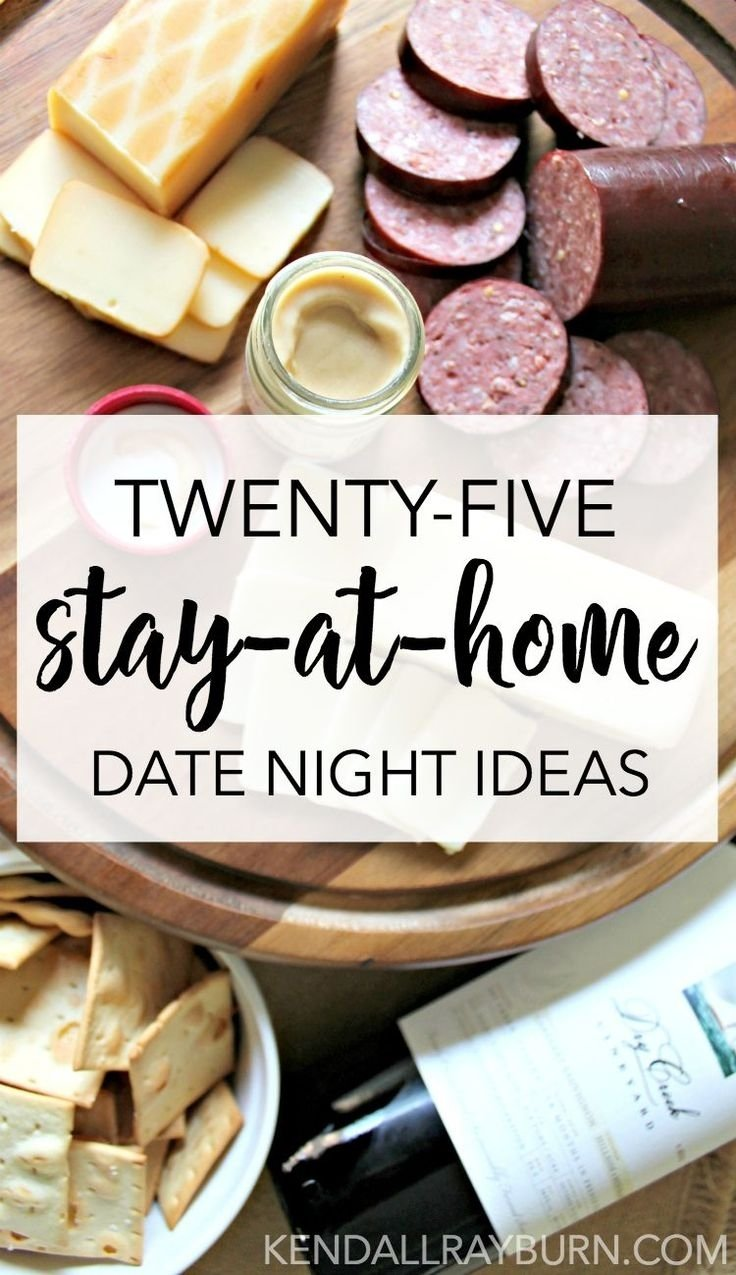 10 unique fun stay at home date ideas