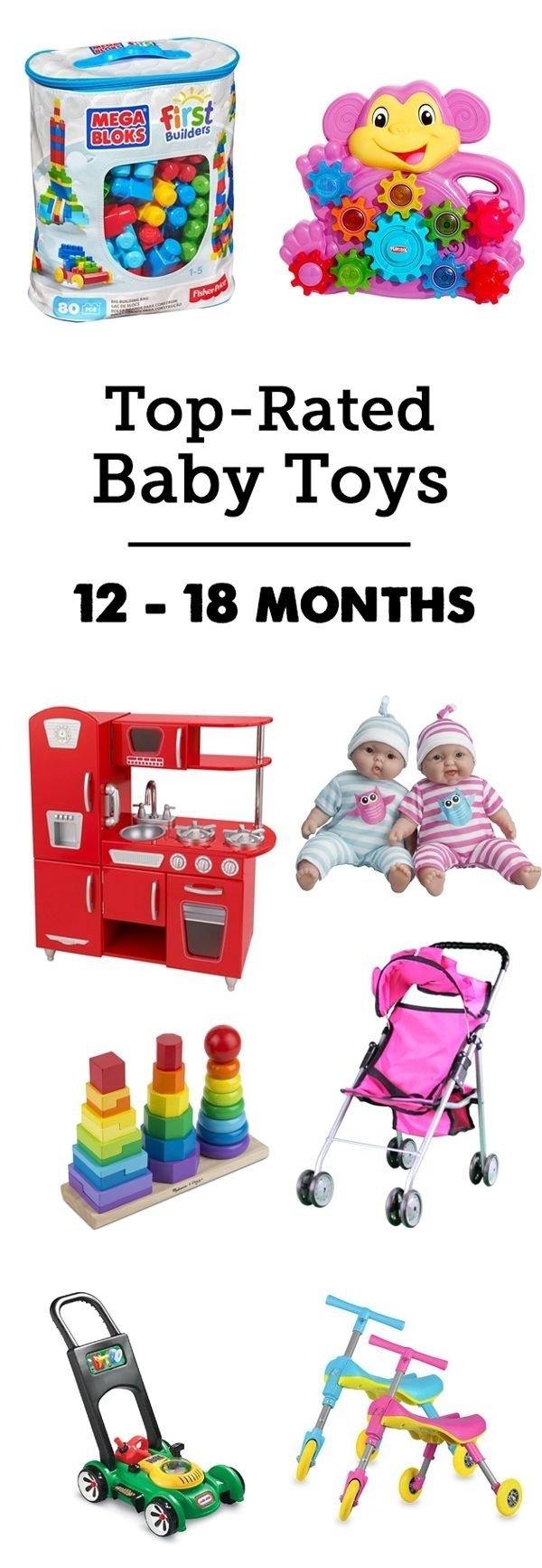 10 Most Popular Gift Ideas For Girls Age 12 122 best toys for 1 year old girl 2018 images on pinterest toddler 1 2020