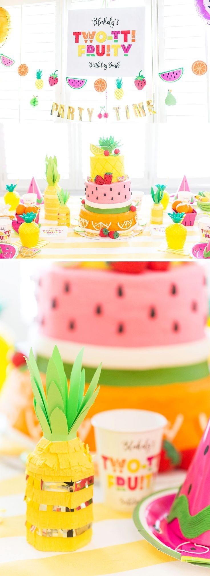 10 Wonderful Ideas For 2Nd Birthday Party 124 best twotti fruity kenlys 2nd birthday party images on