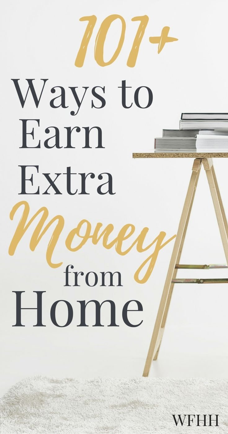 10 Fantastic Ideas To Earn Extra Money 1243 best work from home jobs images on pinterest money 1