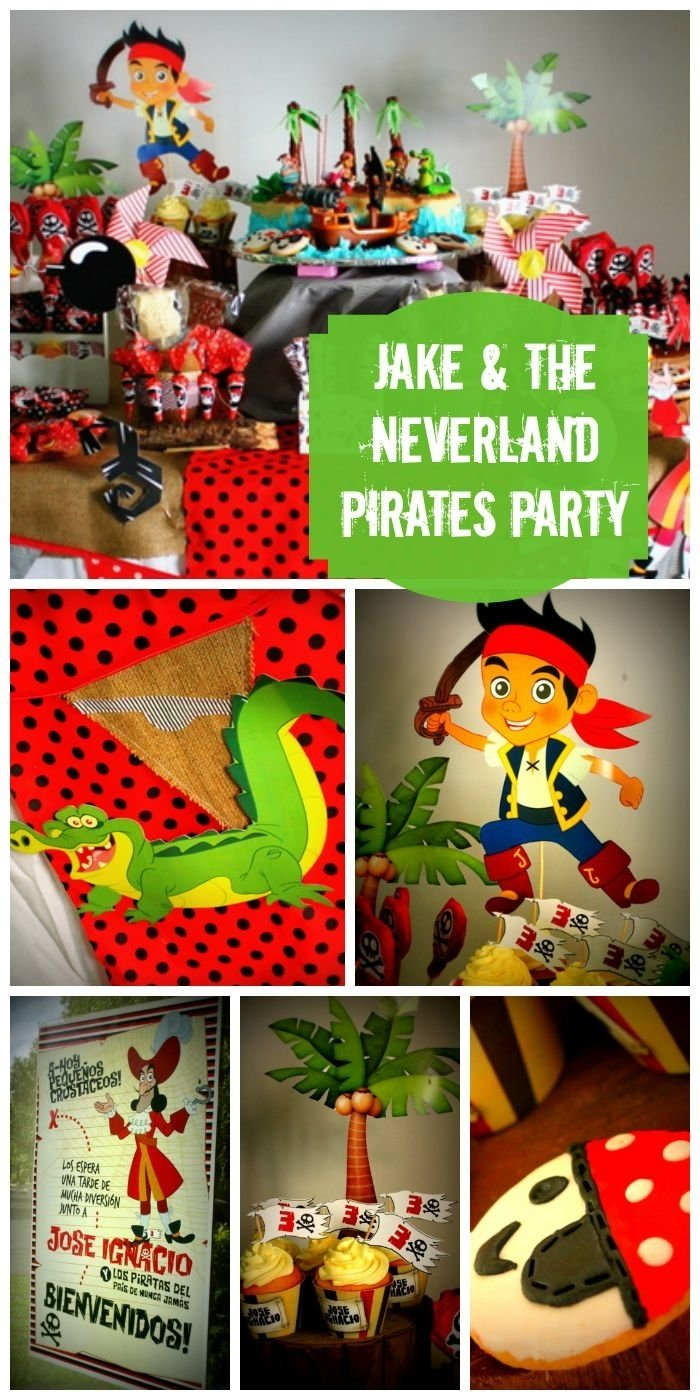10 Perfect Jake The Pirate Party Ideas 125 best jake and the neverland pirates party ideas images on 2021