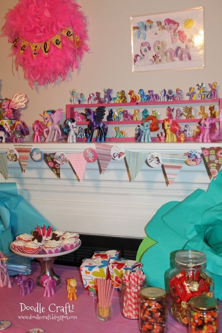10 Stylish My Little Pony Friendship Is Magic Birthday Party Ideas 125 best my little pony friendship is magic party images on 2020