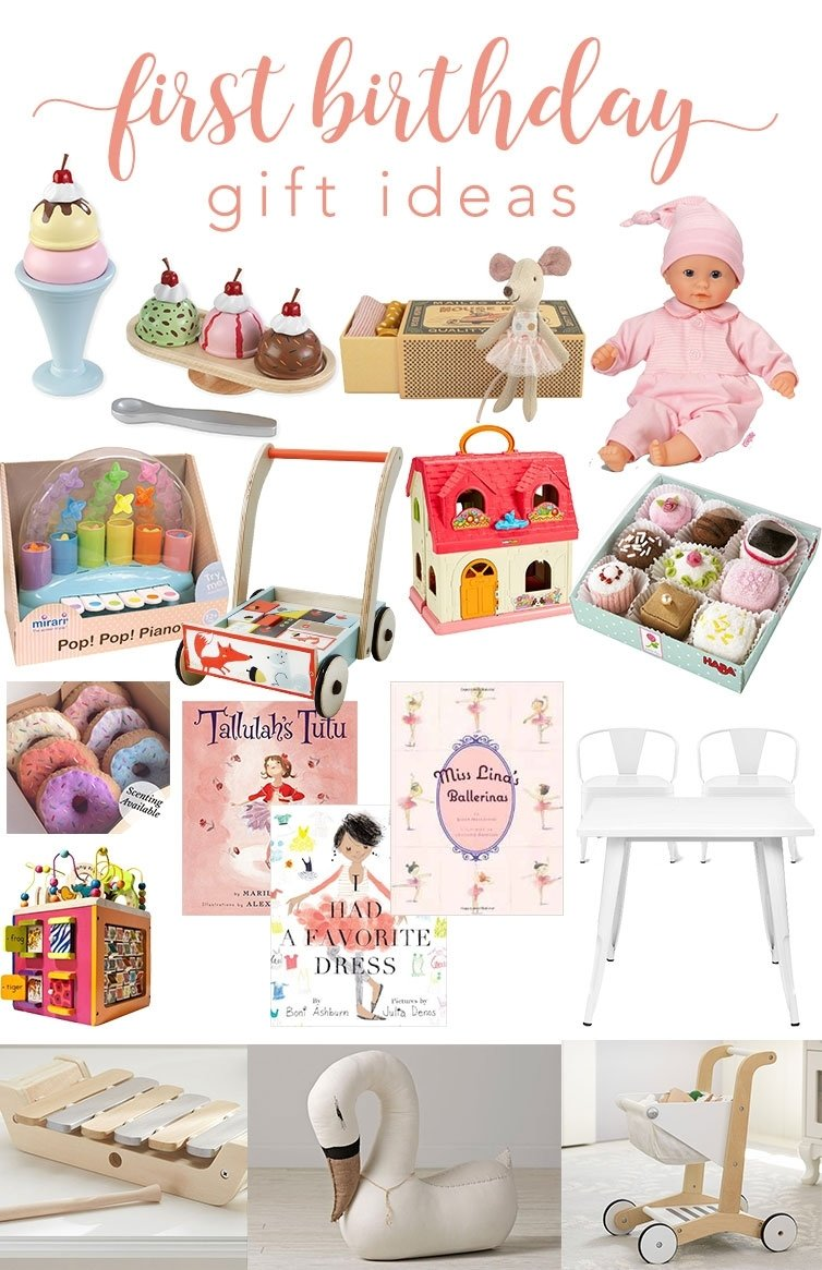 10 Attractive Baby Girl First Birthday Gift Ideas 12th and white first birthday gift ideas 2 2020